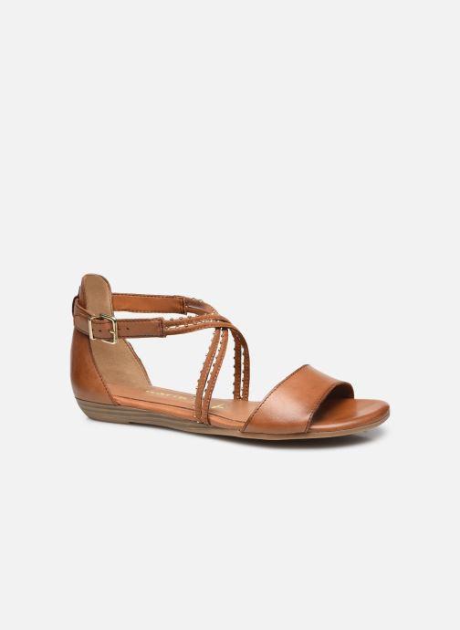 Sandales et nu-pieds Tamaris Treia Marron vue détail/paire