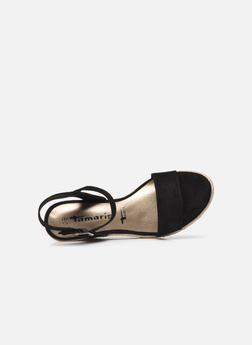 Sandales et nu-pieds Tamaris Norcia Noir vue gauche