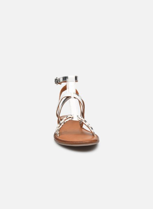 Sandales et nu-pieds Tamaris Cetona Blanc vue portées chaussures