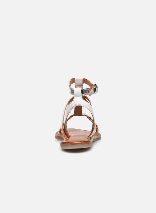 Sandales et nu-pieds Tamaris Cetona Blanc vue droite