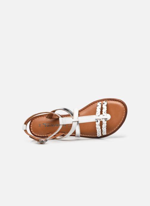 Sandales et nu-pieds Tamaris Cetona Blanc vue gauche