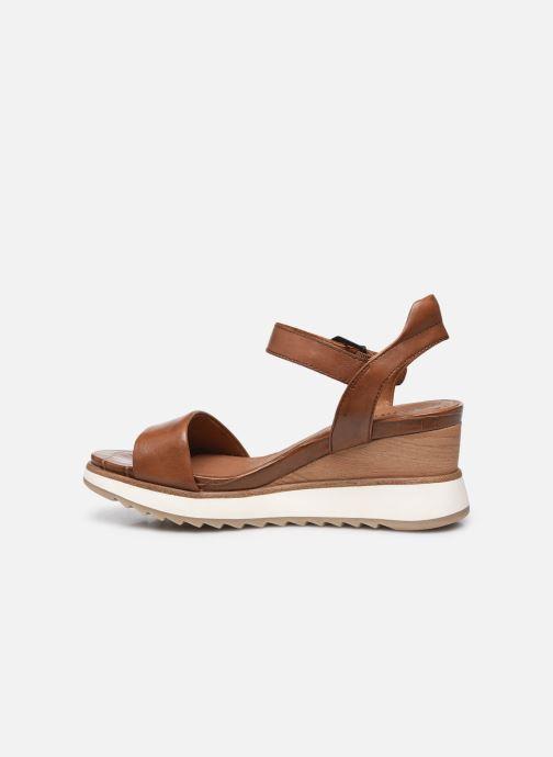 Sandales et nu-pieds Tamaris Tellaro Marron vue face