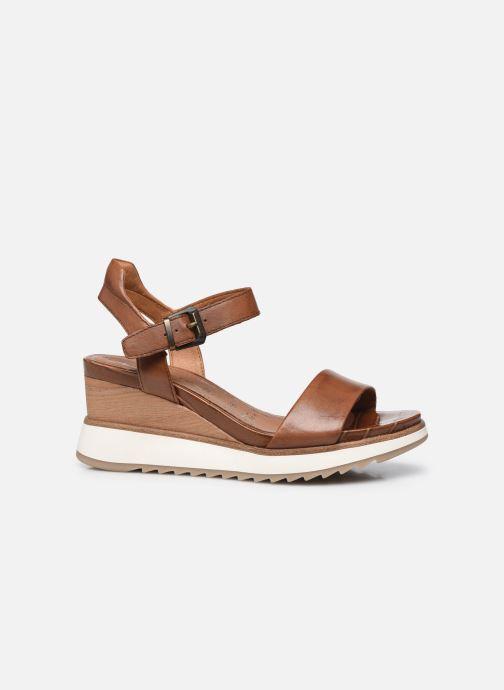 Sandales et nu-pieds Tamaris Tellaro Marron vue derrière