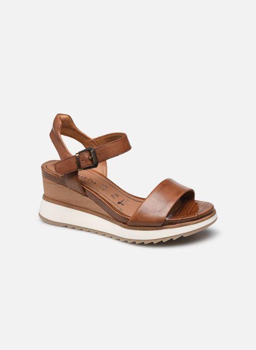 Sandales et nu-pieds Tamaris Tellaro Marron vue détail/paire