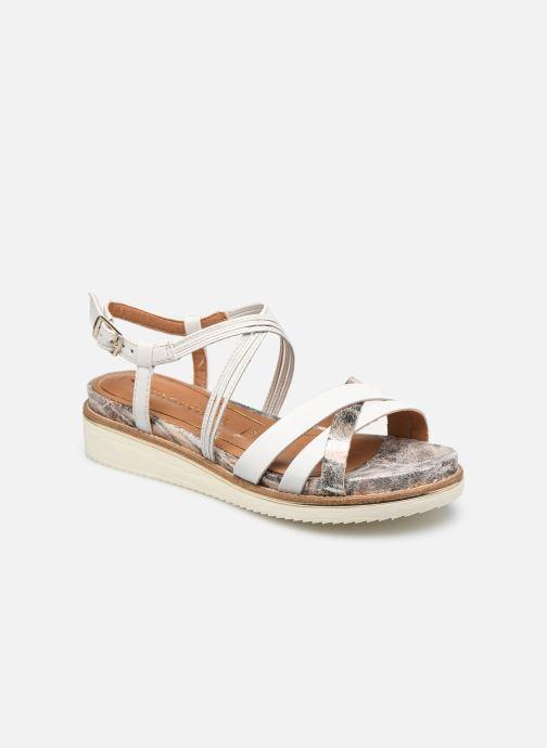 Sandales et nu-pieds Tamaris Gradara Blanc vue détail/paire