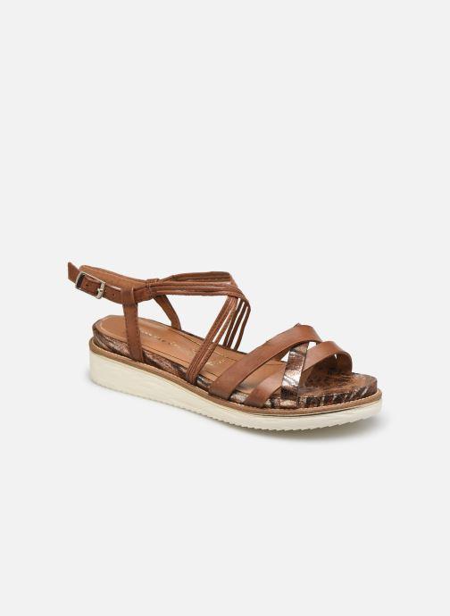 Sandales et nu-pieds Tamaris Gradara Marron vue détail/paire