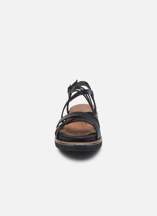Sandales et nu-pieds Tamaris Gradara Bleu vue portées chaussures