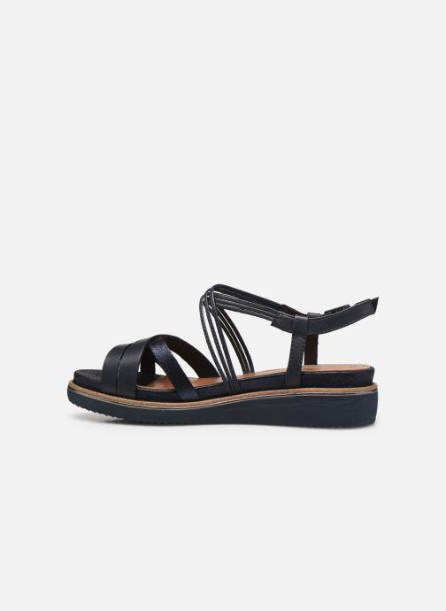Sandales et nu-pieds Tamaris Gradara Bleu vue face