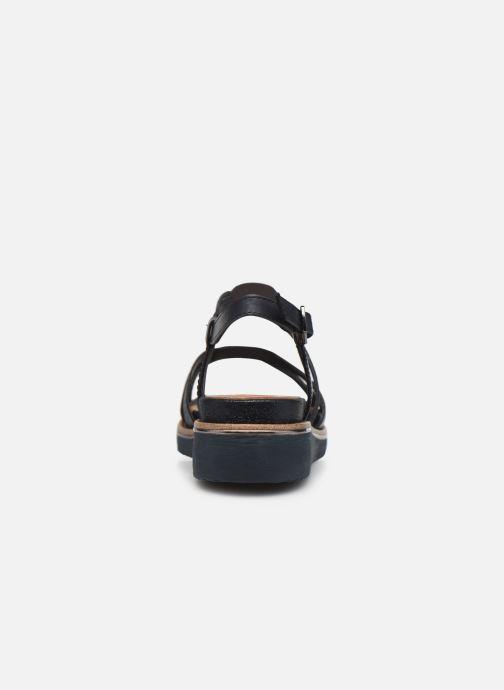 Sandales et nu-pieds Tamaris Gradara Bleu vue droite
