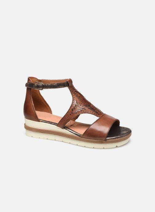 Sandales et nu-pieds Tamaris Aieta Marron vue détail/paire