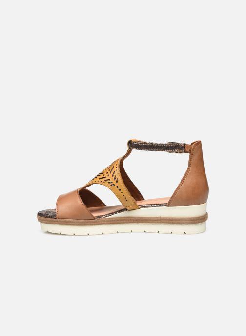Sandales et nu-pieds Tamaris Aieta Jaune vue face
