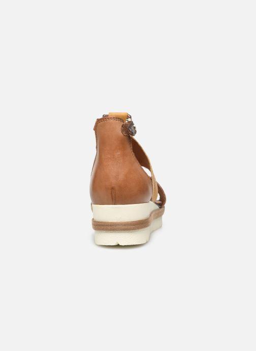 Sandales et nu-pieds Tamaris Aieta Jaune vue droite