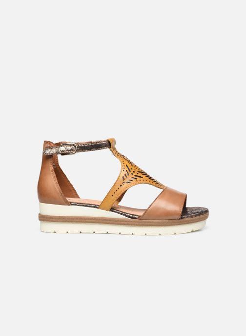 Sandales et nu-pieds Tamaris Aieta Jaune vue derrière