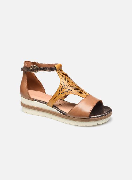Sandales et nu-pieds Tamaris Aieta Jaune vue détail/paire