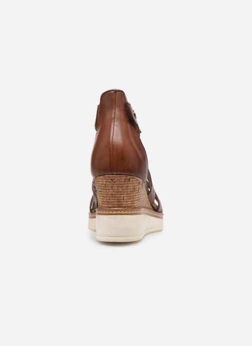 Sandales et nu-pieds Tamaris Dolcea Marron vue droite