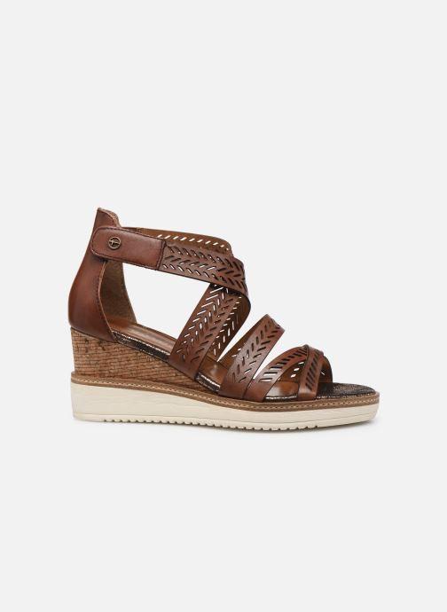 Sandales et nu-pieds Tamaris Dolcea Marron vue derrière