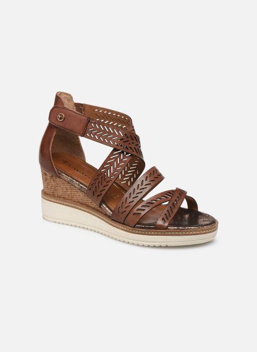 Sandales et nu-pieds Tamaris Dolcea Marron vue détail/paire