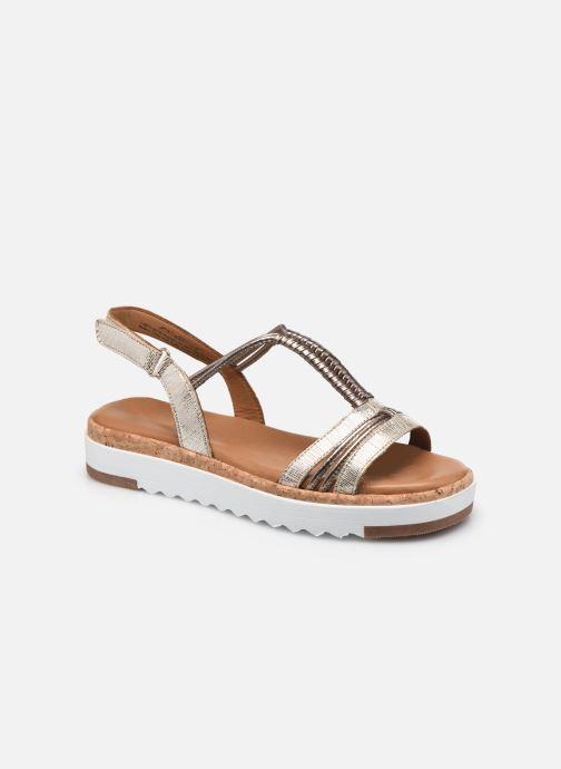 Sandales et nu-pieds Tamaris Malcsi Or et bronze vue détail/paire