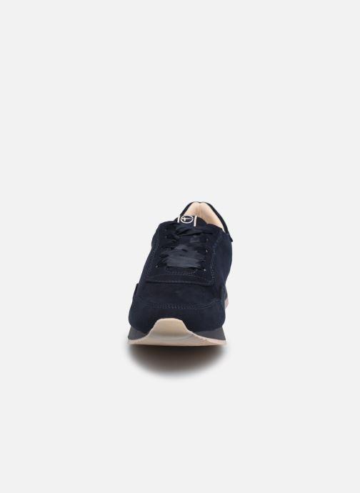 Baskets Tamaris Caltani Bleu vue portées chaussures