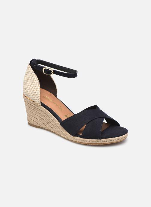 Sandales et nu-pieds Tamaris Prunella Bleu vue détail/paire