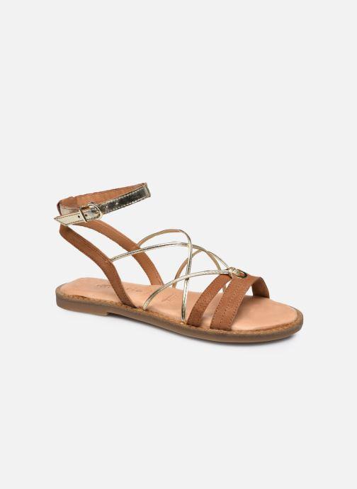 Sandales et nu-pieds Tamaris Xalama Marron vue détail/paire