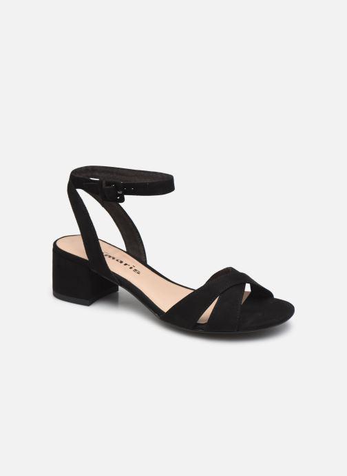 Sandales et nu-pieds Tamaris Floppy Noir vue détail/paire