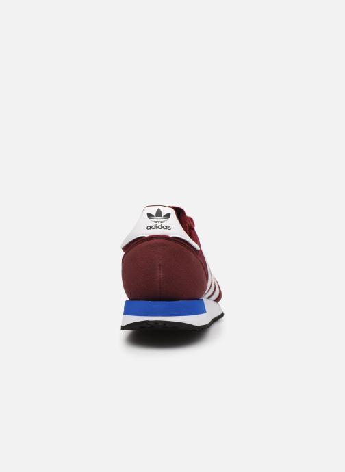 Sneaker adidas originals USA 84 M weinrot ansicht von rechts