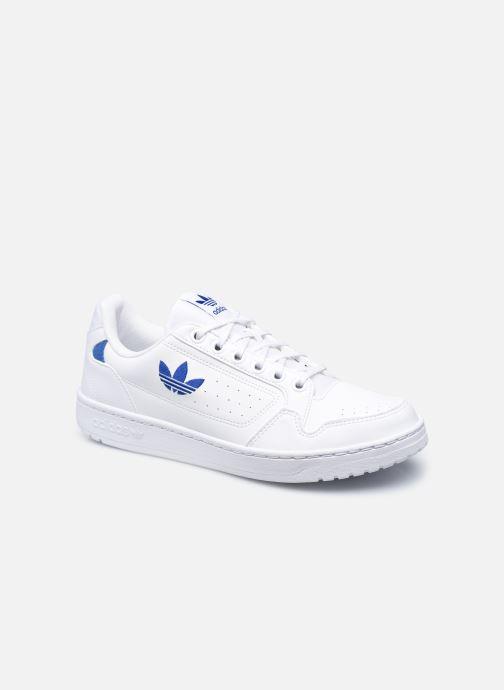 Baskets adidas originals NY 92 M Blanc vue détail/paire