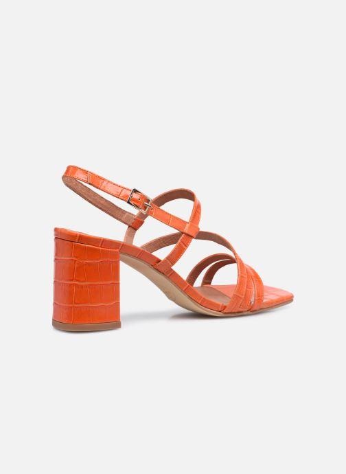 Sandalen Made by SARENZA Minimal Summer Sandales à Talons #1 orange ansicht von vorne