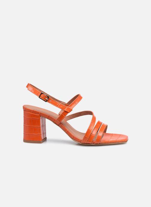 Sandalen Made by SARENZA Minimal Summer Sandales à Talons #1 orange detaillierte ansicht/modell