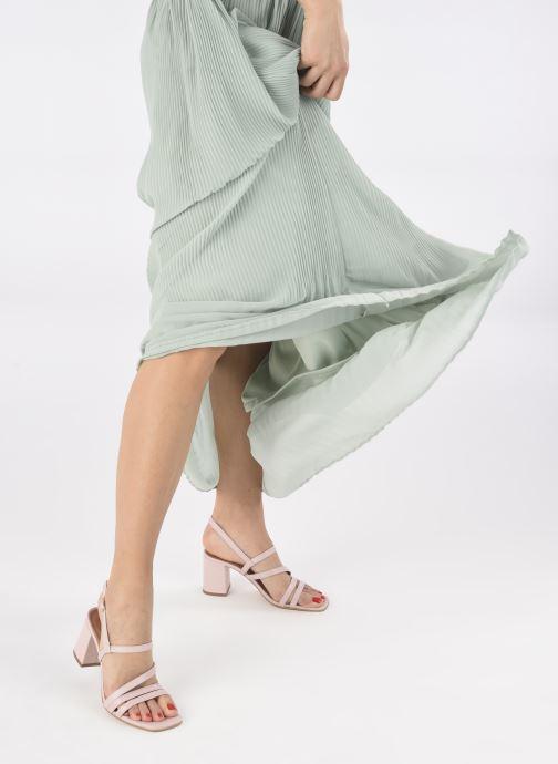 Sandalen Made by SARENZA Minimal Summer Sandales à Talons #1 rosa ansicht von unten / tasche getragen