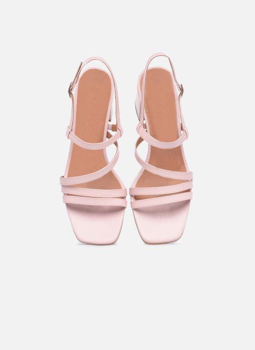 Sandalen Made by SARENZA Minimal Summer Sandales à Talons #1 rosa schuhe getragen