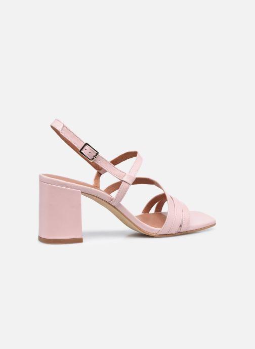 Sandalen Made by SARENZA Minimal Summer Sandales à Talons #1 Roze voorkant