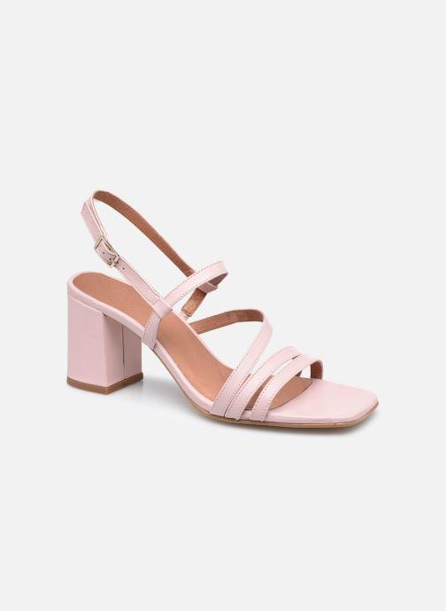 Sandalen Made by SARENZA Minimal Summer Sandales à Talons #1 Roze rechts