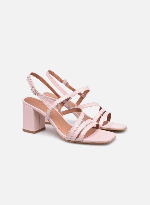 Sandalen Made by SARENZA Minimal Summer Sandales à Talons #1 Roze achterkant