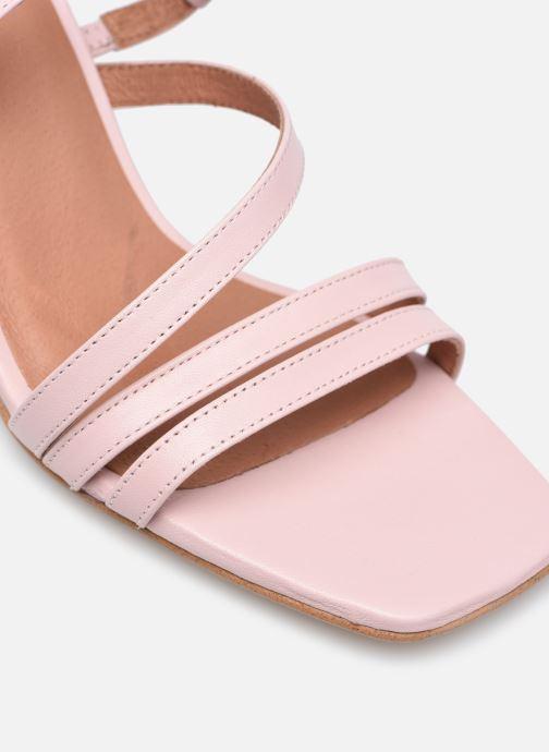 Sandalen Made by SARENZA Minimal Summer Sandales à Talons #1 rosa ansicht von links