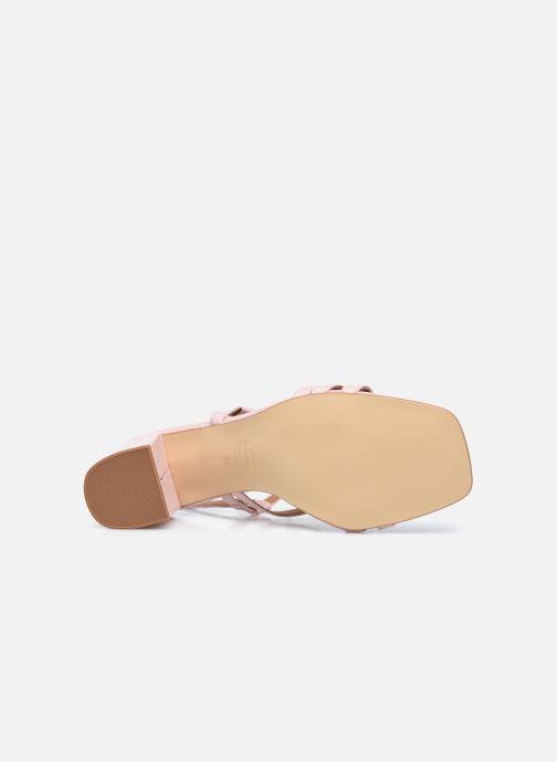 Sandalen Made by SARENZA Minimal Summer Sandales à Talons #1 rosa ansicht von oben