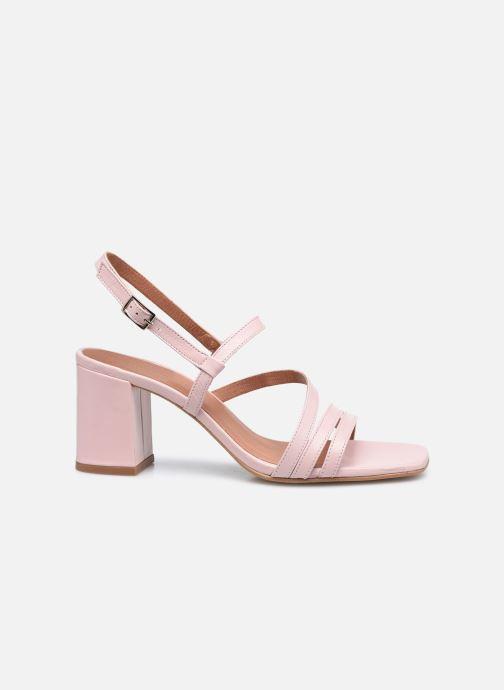 Sandales et nu-pieds Made by SARENZA Minimal Summer Sandales à Talons #1 Rose vue détail/paire