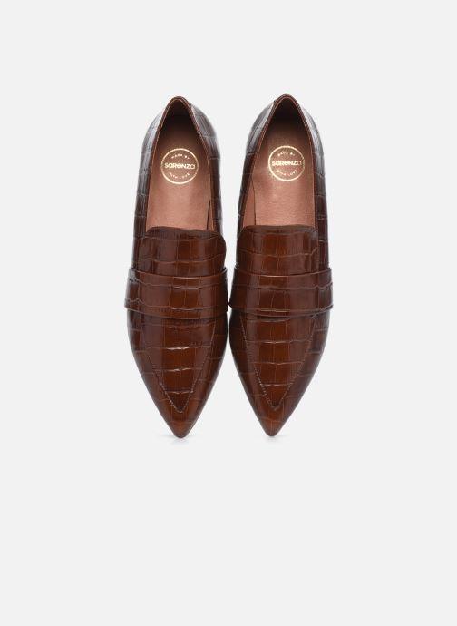 Slipper Made by SARENZA Minimal Summer Mocassins #1 braun schuhe getragen