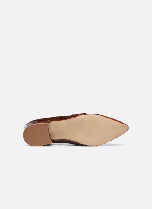 Slipper Made by SARENZA Minimal Summer Mocassins #1 braun ansicht von oben