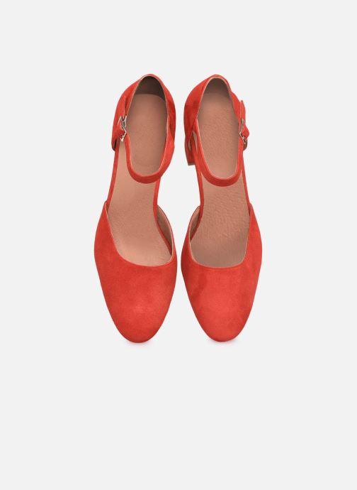 Décolleté Made by SARENZA Exotic Vibes Escarpins #1 Rosso modello indossato