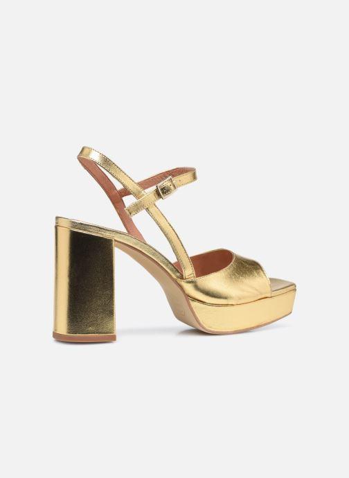 Sandali e scarpe aperte Made by SARENZA Exotic Vibes Sandales à Talons #1 Oro e bronzo immagine frontale