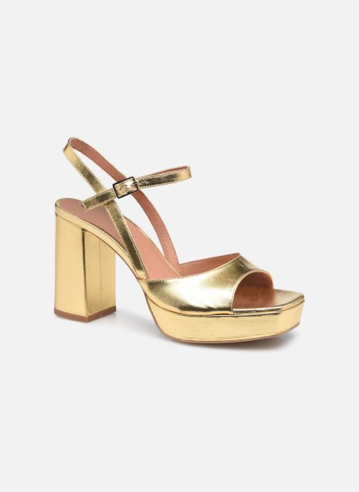 Sandali e scarpe aperte Made by SARENZA Exotic Vibes Sandales à Talons #1 Oro e bronzo immagine destra
