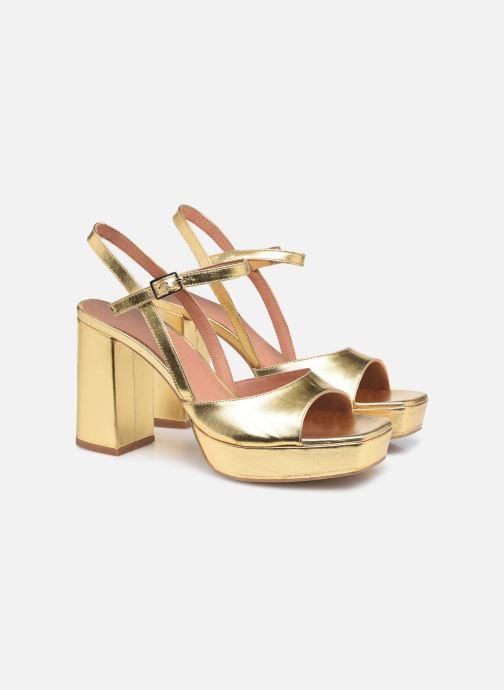 Sandali e scarpe aperte Made by SARENZA Exotic Vibes Sandales à Talons #1 Oro e bronzo immagine posteriore