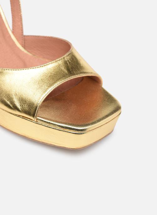 Sandali e scarpe aperte Made by SARENZA Exotic Vibes Sandales à Talons #1 Oro e bronzo immagine sinistra