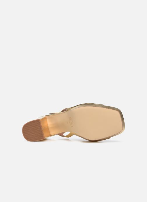 Sandali e scarpe aperte Made by SARENZA Exotic Vibes Sandales à Talons #1 Oro e bronzo immagine dall'alto