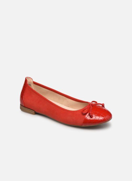 Bailarinas Caprice Fulmo Rojo vista de detalle / par