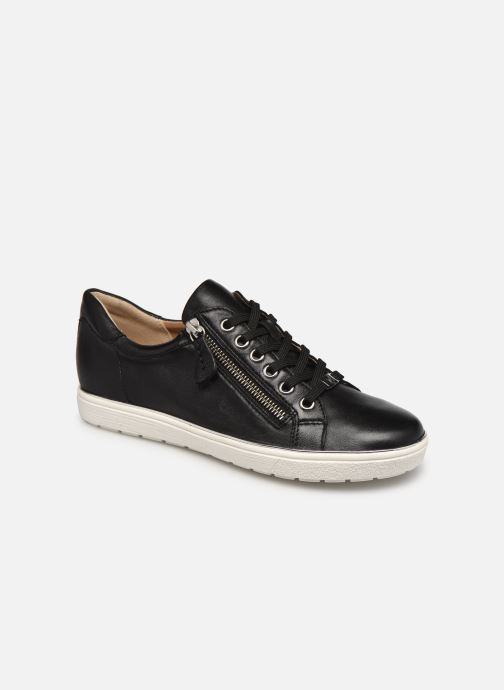 Sneakers Caprice Glaka Zwart detail