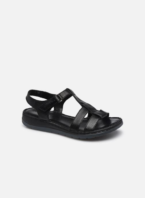 Sandales et nu-pieds Caprice Frava Noir vue détail/paire