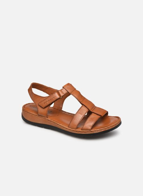 Sandales et nu-pieds Caprice Frava Marron vue détail/paire